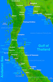 islands map thailand s islands map of southern thailand