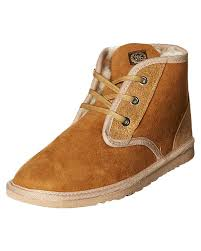 womens brown boots australia ugg australia s womens desert ugg boot lace brown ebay