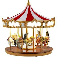 mr christmas mr christmas animated grand carousel