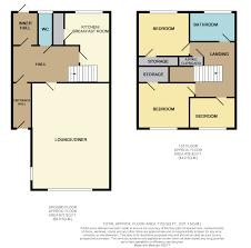 Hardwick Hall Floor Plan by 3 Bed Semi Detached House For Sale In Hardwick Road Eynesbury St