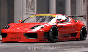 f430 kit liberty walk releases kit for 360 and f430