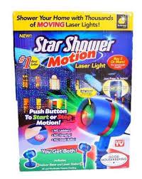 motion laser light projector star shower as seen on tv motion laser lights star projector
