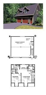 house plans with detached garage apartments garage apartment plan 45134 total living area 511 sq ft 1