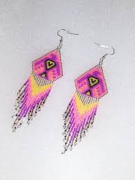 1244 best beadwork images on pinterest beaded earrings seed