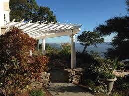 trex pergolas on pool deck provide shelter from sun florida
