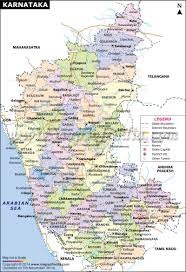 Bhopal India Map by Karnataka Map State And Districts Information And Facts