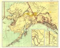 Maps Of Alaska by And Coal Fields Of Alaska Map