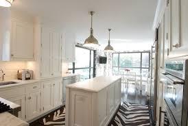 Zebra Runner Rug Zebra Kitchen Rug Contemporary Kitchen The Renovated Home