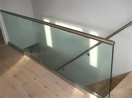 Glass Stair Banisters Balustrade In Bournemouth And Poole Dorset Athena Fabrication