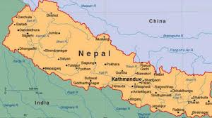 Map Nepal India by Nepal To Get New Constitution After 8 Years Country Divided In 7