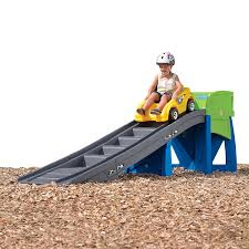amazon com step2 extreme roller coaster ride on playset toys u0026 games