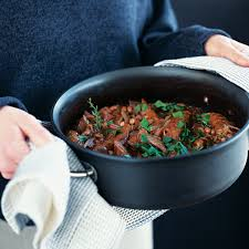 best winter recipes sausage haricot bean and red wine casserole delicious magazine