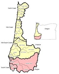 Oregon Coastline Map by Salmonids In The Lower Coos Watershed Partnership For Coastal