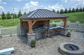 kitchen patio ideas covered outdoor kitchen patio and outdoor kitchen covered bar