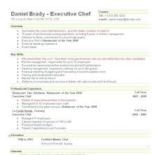 executive chef resume template chef resume template executive chef resume sle executive chef