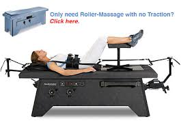 lumbar traction table traction massage table roller massage