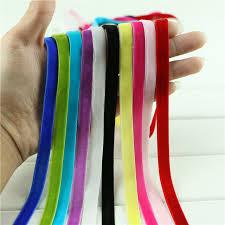 velvet ribbon by the yard 10 yard lot 3 8 sparkle single faced velvet ribbon velour