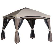 Small Patio Gazebo by Patio Gazebos Patio Accessories The Home Depot