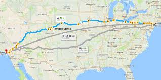 Commute Map The 3 000 Mile Commute The Daily
