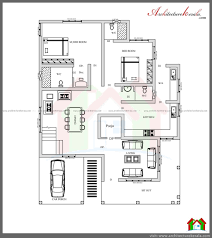 Two Floor House Plans In Kerala Architecture Kerala Three Bedroom Two Storey House Plan Ground