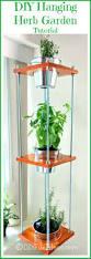 diy hanging herb garden industrial style herbs garden herbs