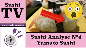 cours cuisine sushi sushi analyse n 4 yamato sushi howald académie culinaire