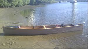 peter caspari and his electric quick canoe square backed canoe