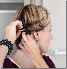 hair with headband headband curls tutorial one momma