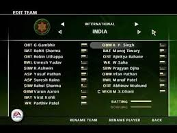ea sports games 2012 free download full version for pc ea sports cricket 2007 latest 2012 players teams player editor