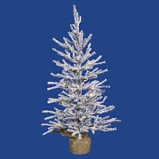 4ft fiber optic tree white with 50 multi color lights trees