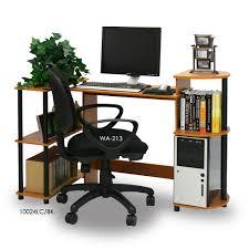 Compact Modern Desk by Furinno 11181 Compact Computer Desk Walmart Com