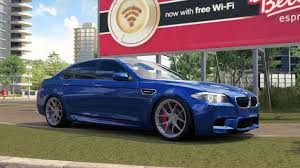 bmw m5 slammed bmw m5 f10 drift forza horizon 3 youtube