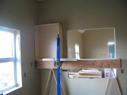 Installing Cabinets In Kitchen Upper Frame Hanging Cabinets U2014 Derektime Design How Steps