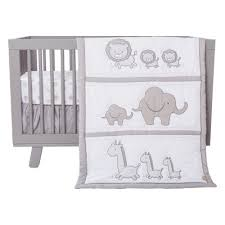 safari chevron 3 piece crib bedding set trend lab