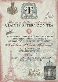 kitchen tea invitation ideas vintage tea bridal shower invitations kawaiitheo com