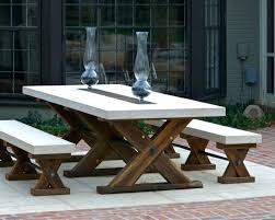 wooden outside tables medium size of table for patio cedar outdoor