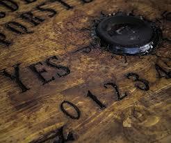 Ouija Coffee Table by Sculpted Ouija Board