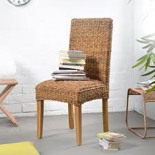 wicker dining side chair dining chairs dining room furniture