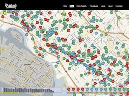 Oakland Crime Map Posts On 2008 05 08 Tecznotes