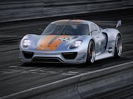 Porsche 918 Gt3 - porsche unveils 918 rsr hybrid race car european car magazine