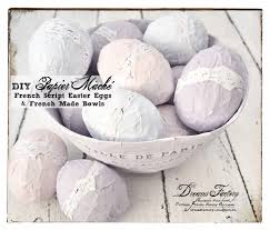 25 diy shabby chic decor ideas for women who love the retro style 10 diy easter themed papier mache