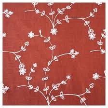 yorkshire home inas embroidered curtain panel 108