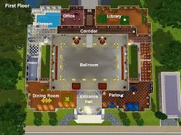 mod the sims mansion gigantique style and luxury