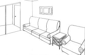 interior living room drawing design living room wall drawings