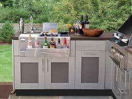 kitchen dreamy outdoor kitchen outdoor metal cabinet small