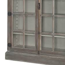 Arched Bookcase Guildmaster Manor Arched Door Display Cabinet Industrial