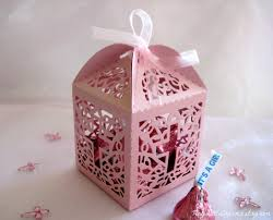 baptism favor boxes holy cross pearled party favor boxes for christening favors