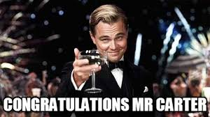 Carter Meme - congratulations mr carter congratulations meme on memegen