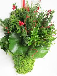 christmas arrangements assorted greenery arrangements