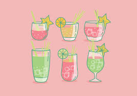 martini shaker vector drinking water free vector art 6156 free downloads
